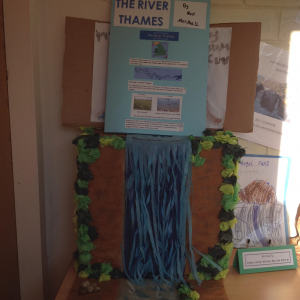 Year 4 A report about the River Thames.