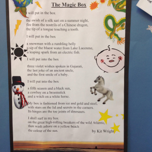 Year 5 Poetry  What would you put in a magic box?